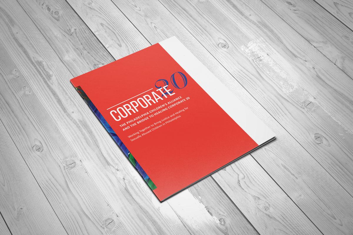 Philadelphia Children's Alliance - Corporate 20 Brochure Cover pages