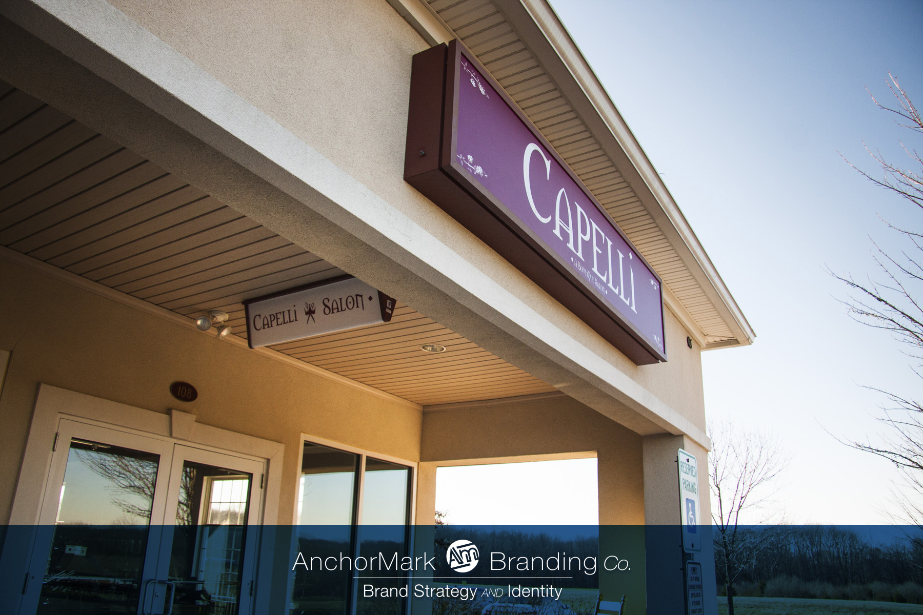 Capelli Shop of Pennington Exterior Signs